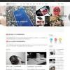Discuz模版:Spacia时尚门户资讯类整站带数据,模版