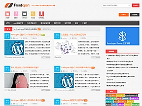 WordPress:Frontopen主题