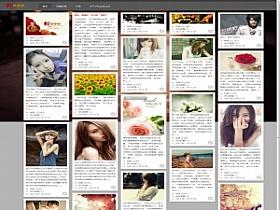 WordPress图片主题:瀑布流主题