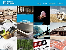 WordPress主题:作品展示Salmon Cream主题 V1.0.3版本分享
