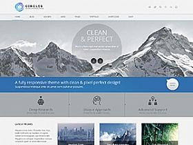 WordPress企业主题:Circles V3版本免费分享