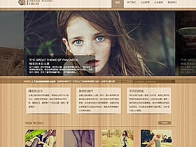 WordPress企业主题:精致的木纹背景主题分享