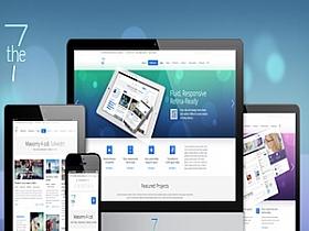 WordPress企业英文主题:已汉化The7主题V3.1.1版本(免费分享)