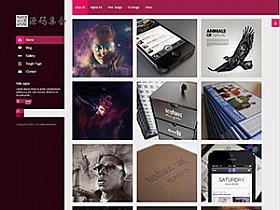 WordPress作品展示Roya V1.2.1响应式主题分享