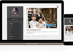 WordPress极简黑白双栏Personal主题免费分享