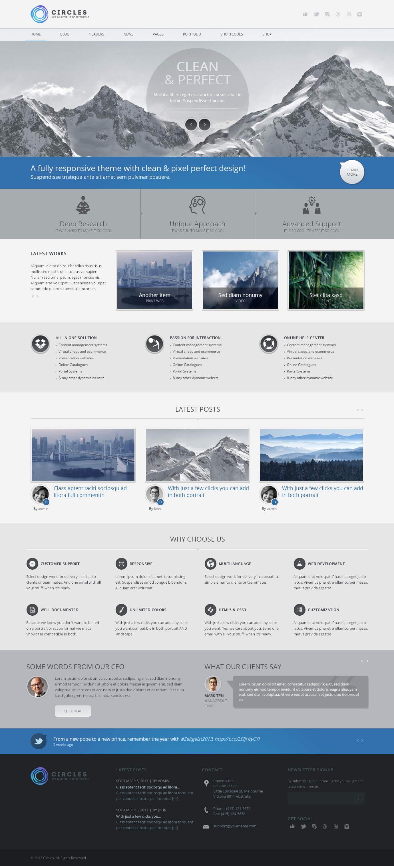 WordPress_Circles