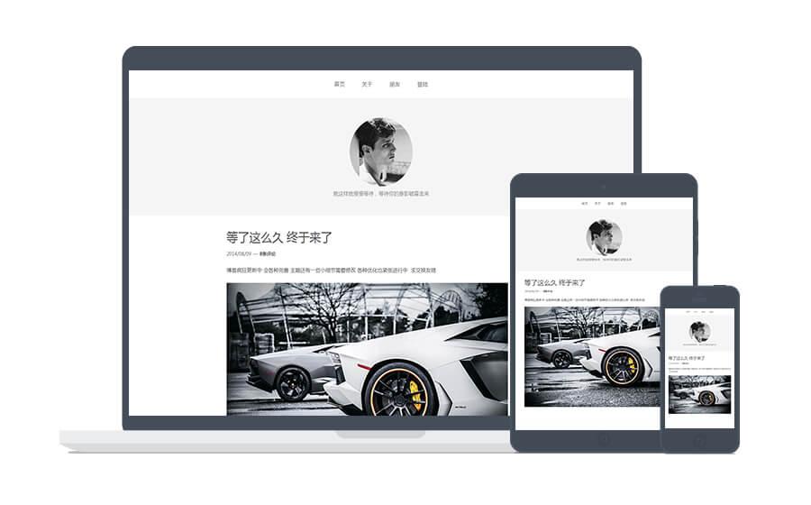 WordPress博客主题:单栏简洁的Swhite Beta响应式主题分享