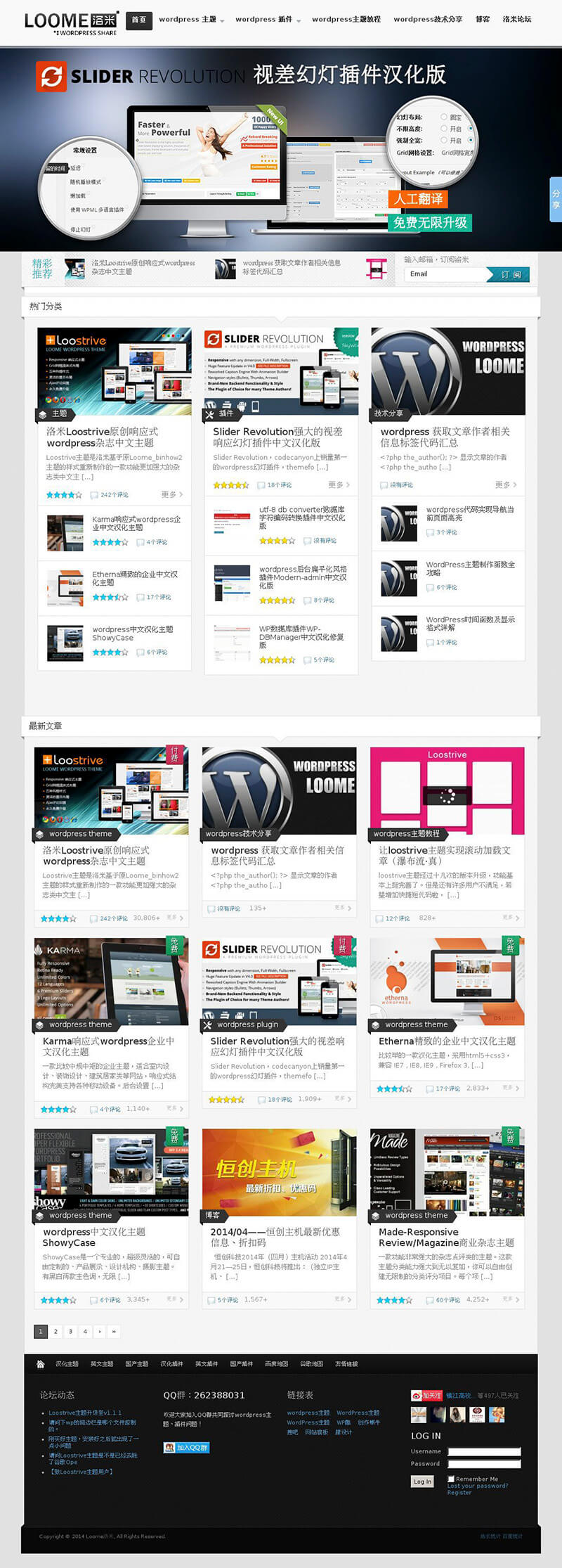 WordPress汉化主题:Made-Magazine主题汉化修改版